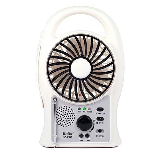 Portable Rechargeable Fan/Radio/Lantern
