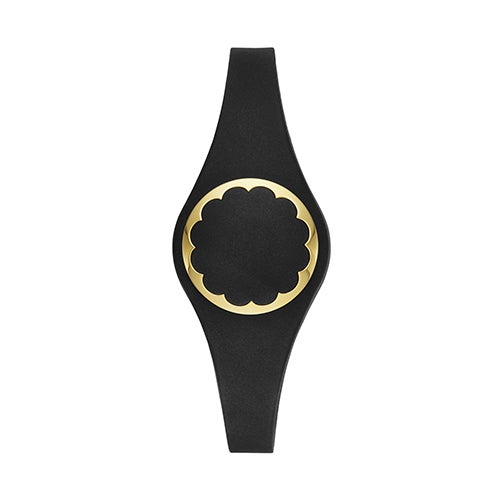 Black & Gold Scallop Activity Tracker