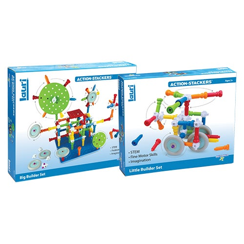 Action-Stackers Builder Bundle, Ages 3+ Years