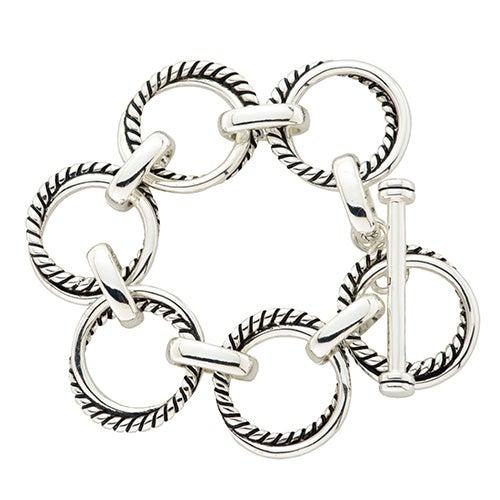 Twisted Link Bracelet