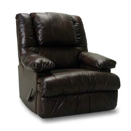 Rocker Recliner w/ Massage and Mini Fridge