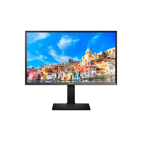 "WQHD 32"" LED Monitor, Matte Black/Silver"