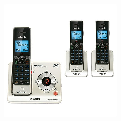 DECT 6.0 Cordless Phone System  w/ 3 Handsets