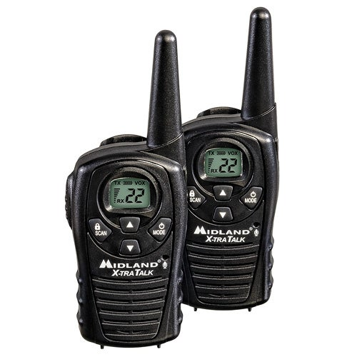 Pair of 22Ch 2-Way Radios with 18 Mile Range