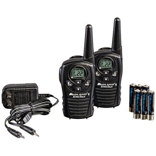Pair of 22Ch 2-Way Radios w/ 18 Mile Range Value Pack