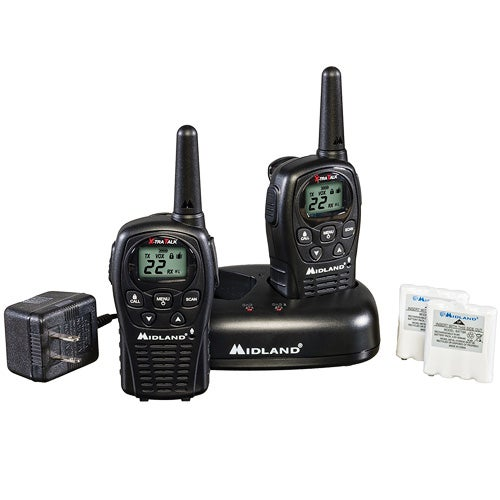 22 Ch 2-way Radios w/ 24 Mile Range Value Pack