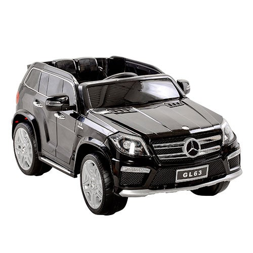 Mercedes Benz GL63 12V Powered Ride-On Toy Car, Black