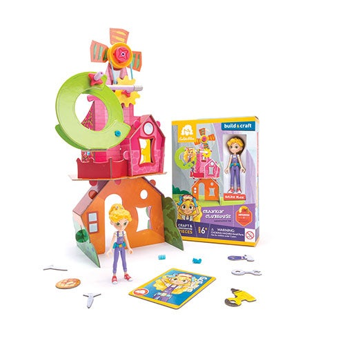 Goldie`s Crankin` Clubhouse, Ages 6+ Years