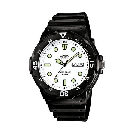 Classic Diver-Look Analog Watch
