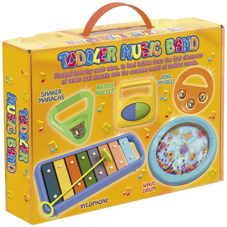 Complete Toddler Band All In One Box