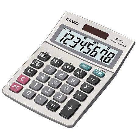 Desktop Calculator With 8-Digit Display