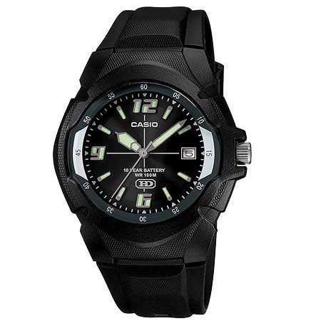 Black Casual Classic Watch