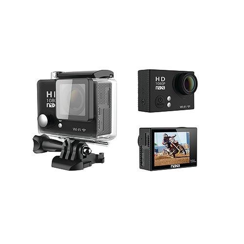 Waterproof HD 1080p Action Cam w/ Wi-Fi