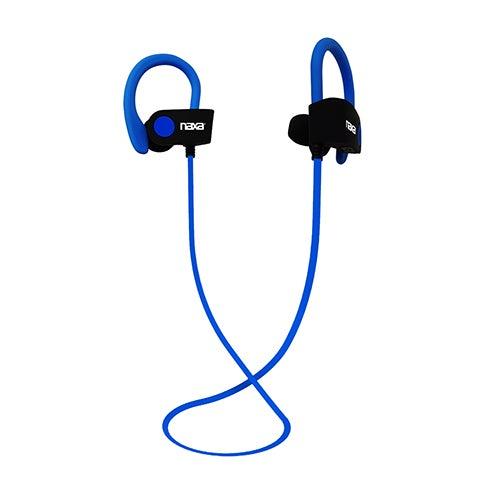 Performance Bluetooth Sports Earphones, Black/Blue