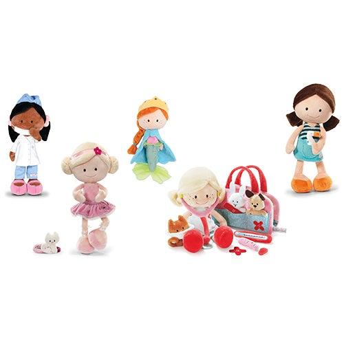Nici Wonderland 5-Doll Set, Ages 2+ Years