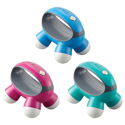 Quatro Mini Massager, Assorted Colors