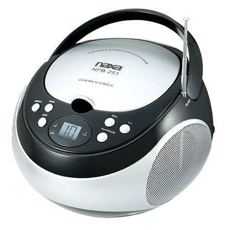 Portable CD Player with AM/FM Stereo Radio