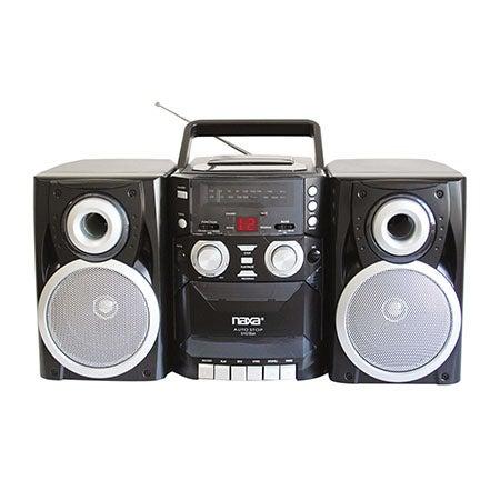 Mini AM/FM/CD/Cassette Recorder