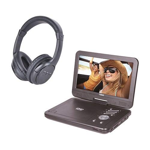 "10"" Portable DVD Player w/ Bluetooth Kit"