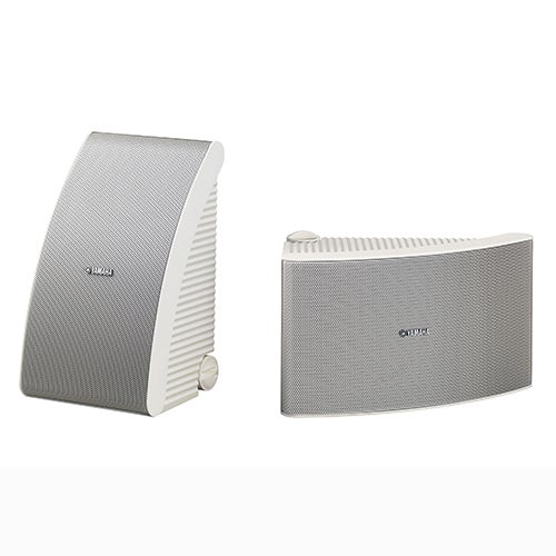 150W Medium Size All-Weather Speakers, White