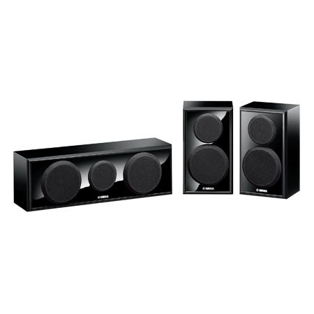 Center and Two Surround Speaker System