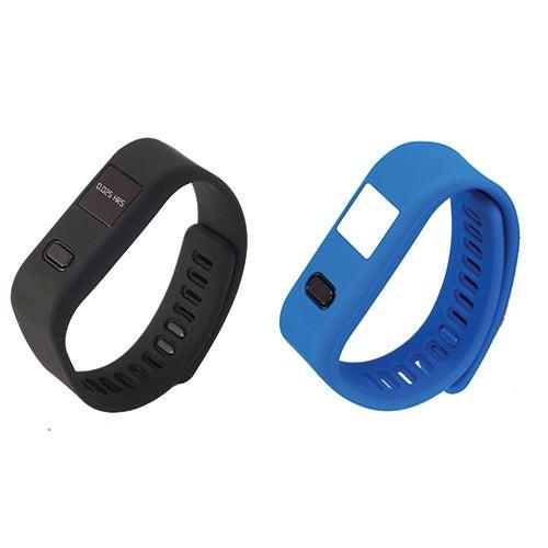 LifeForce+ Fitness Watch, Black/Blue