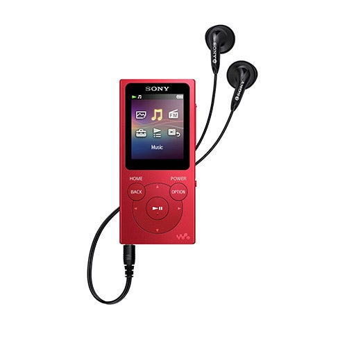 "1.77"" MP3/FM/Photo Player, 16GB, Red"