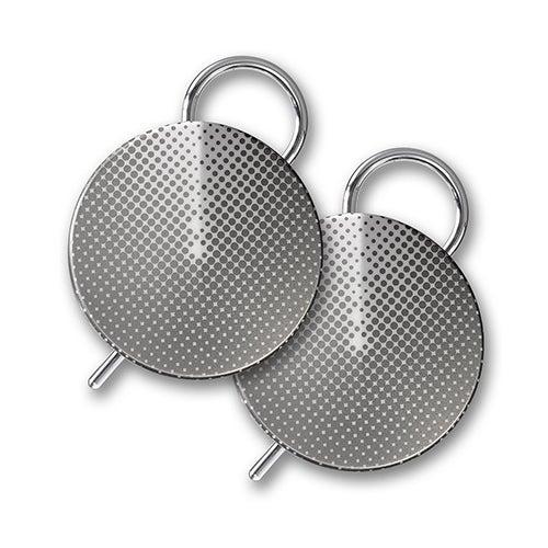 Onyx Smart Walkie Talkies, 2 Pack/Silver Gradient
