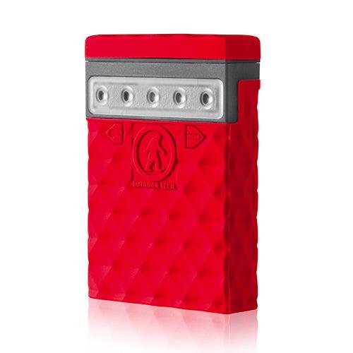 Kodiak Mini 2.0 Rugged 2600mAh Power Bank, Red