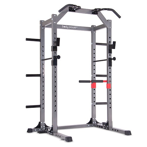 Body Power Deluxe Rack Cage System