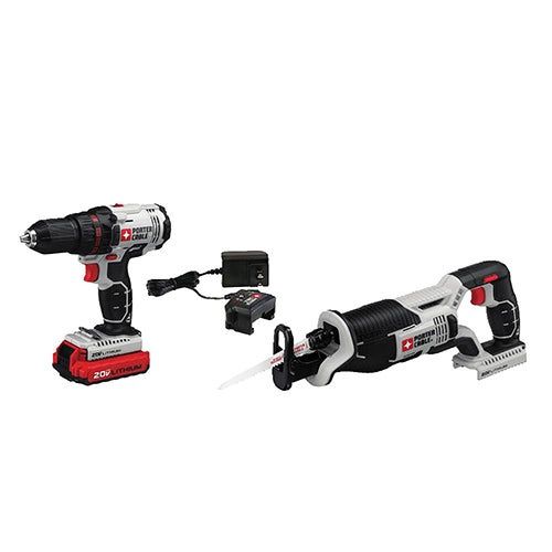 20V Max Drill & Reciprocating Saw Combo Kit