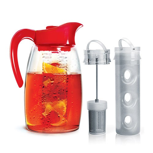 Flavor It  Pitcher, Red