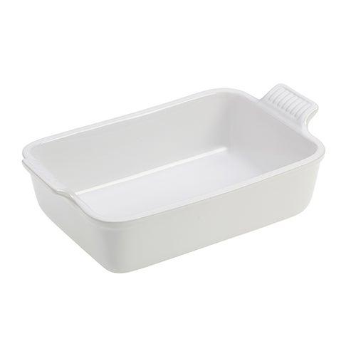 """Heritage 7x5"""" Rectangular Dish, White"""