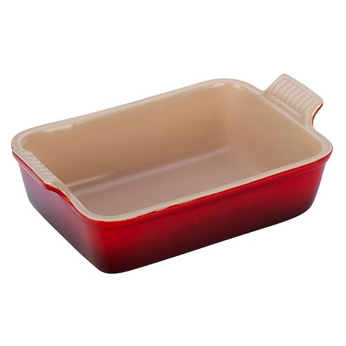 "Heritage 7x5"" Rectangular Dish, Cherry"