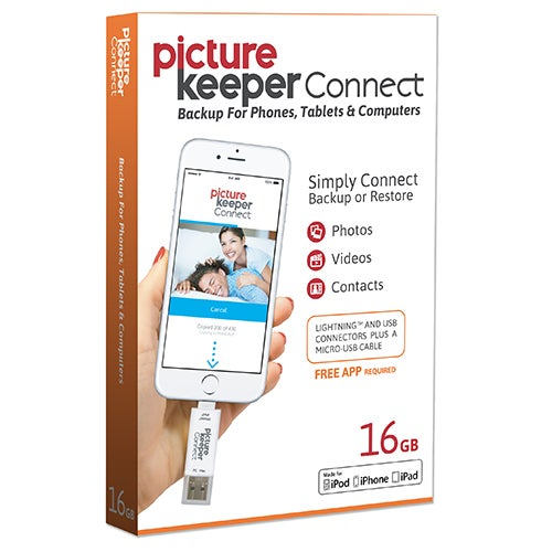 Picture Keeper Connect For iOS & Android, 16GB