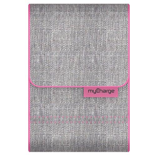 PowerGear Sport USB Charging Case, Pink/Gray