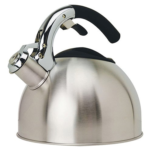 3 Qt Soft Grip Stainless Steel Whistling Kettle