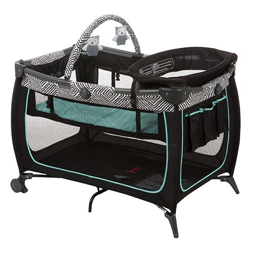 Safe Stages Play Yard, Black Ice