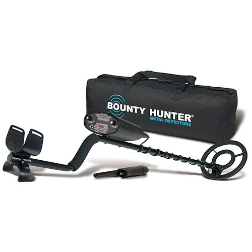 Quick Draw II Metal Detector w/ Carry Bag & Pin Pointer