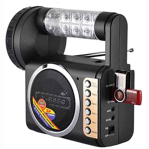 Emergency Flashlight/Radio/USB