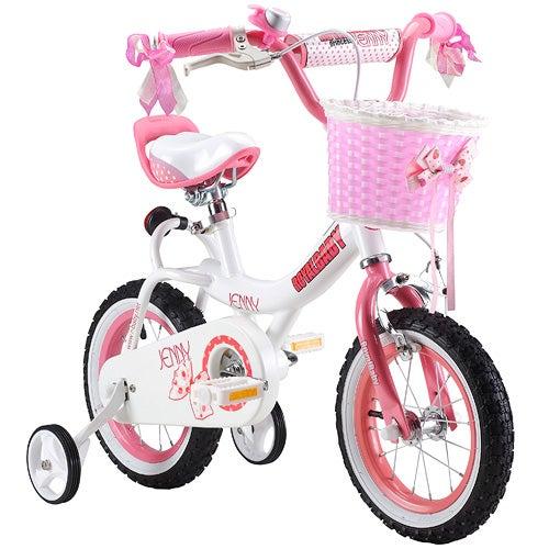 "Jenny 12"" Kids Bicycle, Pink"