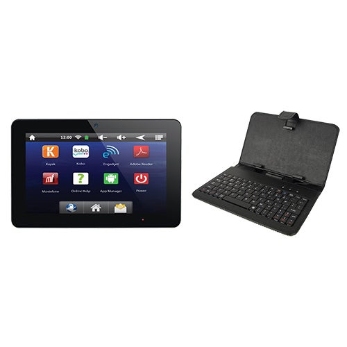 "10"" Dual Core Android TV Tablet w/ Keyboard & Case"