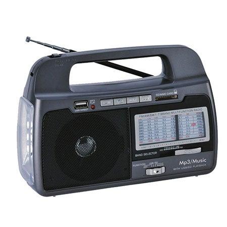 9 Band AM/FM/SW1-7 Portable Radio