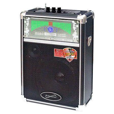 Professional Speaker w/USB, Micro SD, AUX and FM Radio