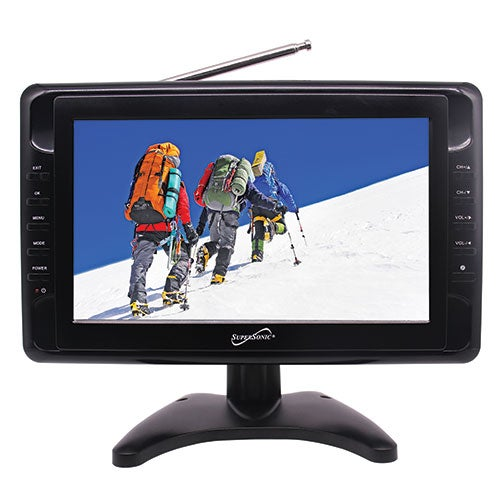 "10"" Portable LCD TV w/ USB and SD"