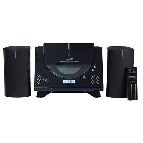 Home Audio System w/ CD, AM/FM & Bluetooth