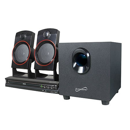 2.1 Channel DVD Home Theater System