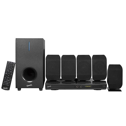 5.1 Channel DVD Home Theater System w/ Karaoke Function