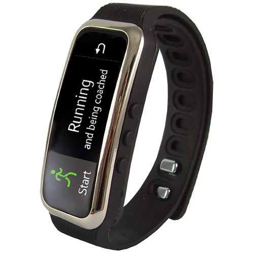 Bluetooth Smart Wristband Fitness Tracker, Black