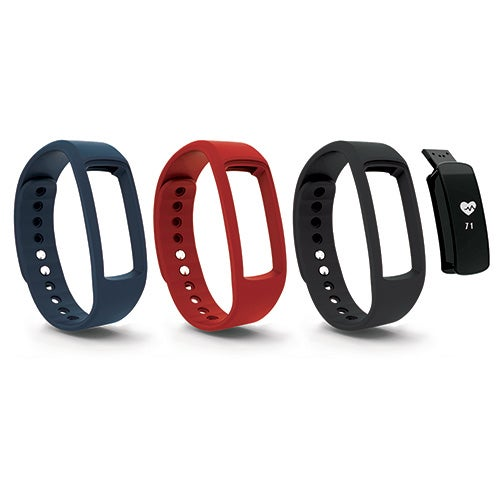 Bluetooth Smartwatch Fitness Tracker w/ HR and 3 Bands